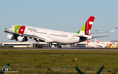 TAP Air Portugal (Guilherme_Martinez) Tags: aircraft airbus airbuslovers sky summer sun sunset planespotting passion portugal follow family followme lisboa love lisbon lovers like clouds cool me holidays hobby hobbie
