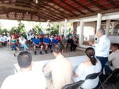 """Inaugura nuestro coordinador Heliodoro_hcde el curso """"salvamento acuático y primeros auxilios"""" que se imparte a Salvavidas de Santa María Colotepec, San Pedro Mixtepec y Tututepec (2)"""