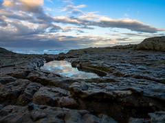 PuddleRock (JohnCalitz) Tags: sky puddle rocks reflection