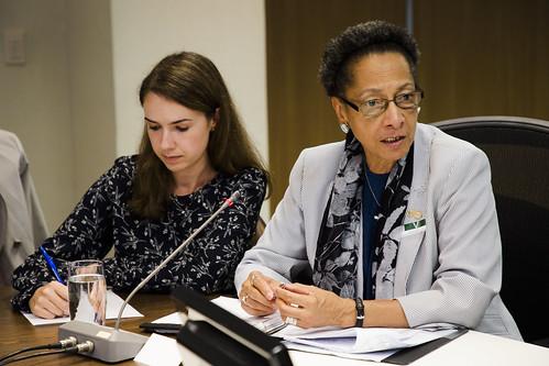 Brasil - Rio de Janeiro - Reunião no Palácio Guanabara com representantes do governo no Rio, SESEG, SEDHMI. Foto: Valda Nogueira/FARPA/CIDH
