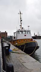 Liverpool (DarloRich2009) Tags: brocklebank nationalregisterofhistoricvessels albertdock royalalbertdock mersey merseyside rivermersey liverpool water dock quay quayside pierhead