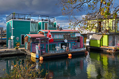 Floating house (anj_p) Tags: fishermanswharf victoria colors bc canada jamesbay