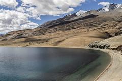 Tsomoriri #11 (jean matthieu) Tags: blue canon clood cloods color eos himalaya india indiantibet ladakh lake landscape light montain montains sky tsomoriri