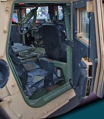 A Peak Inside (Scott 97006) Tags: humvee hummer interior door vehicle military show