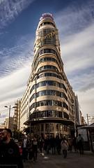 """Classic"".(Merry Christmas from Madrid) (alfonsoscg) Tags: fujifilm xt20 xc1650mmf3556 ois ii ƒ35 160 mm 12000 200 arquitectura edificio madrid calle street azul blue"