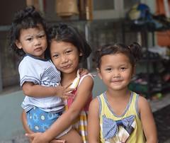 children (the foreign photographer - ฝรั่งถ่) Tags: three children kids khlong lard phrao portraits bangkhen bangkok thailand nikon d3200