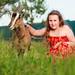 Съёмка Ваших детей с ручными животными на живописной территории