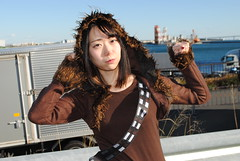 Comiket, Winter 2018 (ジェローム) Tags: comiket comicmarket tokyo odaiba japan cosplaycosplayer costume asia asian cosplay cosplayer girl woman japanese starwars rebelalliance rebellion chewbacca chewie wookie