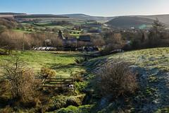 What a difference a day makes! (Maria-H) Tags: lanesidefarm peakdistrict pennines hills glossop highpeak derbyshire uk olympus omdem1markii panasonic 1235