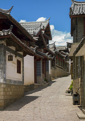 Old Town, Lijiang, China (Eric Lafforgue) Tags: a0007868 architecture asia buildingexterior builtstructure china colorpicture day lijiang nopeople oldtown outdoors shangrilacounty street town tranquility unescoworldheritagesite vertical yunnan yunnanprovince