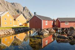 Nusfjord - Nordland - Norway (nonac.eos@gmail.com) Tags: cabins canon6d destination ef1635f28lii fisherman fishing islands landscape lofoten nonaceos nordland norway nusfjord picturesque reine tourist village archipelago norvegia no