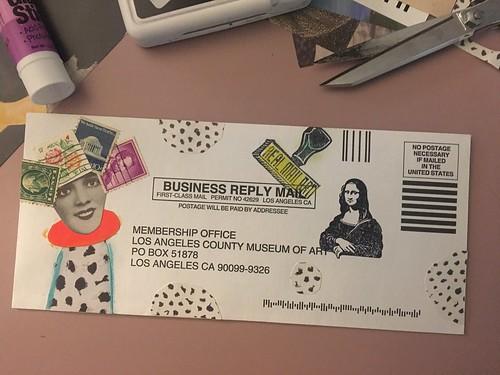 M.M.M. Museum mail membership ART