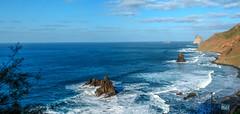Benijo (etoma/emiliogmiguez) Tags: benijo tenerife islascanarias playa roquesdebenijos parque rural de anaga atlántico