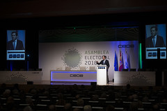21/11/2018 Asamblea Electoral de CEOE (CEOE Oficial) Tags: ceoe asambleaelectoral antoniogaramendi juanrosell elecciones empresrios futuro relevo nombramiento