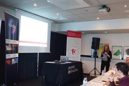 Presentation Almae technologies, Helene Debrégeas