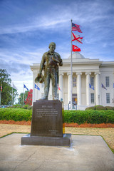 DMT_20181124164057 (Felicia Foto) Tags: montgomeryalabama alabama historic statecapitol statue tribute dutycalled police hdr 3xp building americanflag flags alabamastateflag sky clouds architecture brankomedenica stateflags allrightsreserved denisetschida nikond600 nikon d600 photomatix photoshop lawenforcement photoshopcc2019 south southernus deepsouth geotagged travelphotography