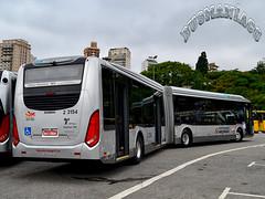 2 3154 Sambaíba Transportes Urbanos (busManíaCo) Tags: busmaníaco nikond3100 nikon d3100 ônibus bus buses urbano caioinduscar sambaíba transportes urbanos b360s volvo millennium brt articulado