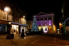 St Helen's Square, York at Christmas