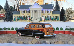 1949 Oldsmobile Futuramic 88 Wood-Bodied Station Wagon (JCarnutz) Tags: 124scale diecast danburymint 1949 oldsmobile 88 stationwagon graceland