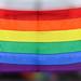 Gay Pride Flag in Stockholm