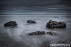 Smoke among the stones (David Mellstrom) Tags: whitleybay longexposure canon 7dmkii sunrise 7d 2470mm northtyneside uk northeast