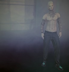 Me (Paulus Woller) Tags: catwaheadshaheen bellezajake20bentobody cx fapple stealthic flow valekoer anxiety guy man male secondlife sl avatar backdropcity