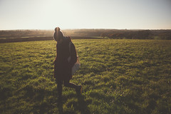 Go Explore (music_man800) Tags: winter autumn fall evening late afternoon light lighting sun sunny sunlight outdoors outside walk hike field grass backlight silhouette shadow contrast person candid portrait walking hat bobble november 2018 essex uk united kingdom gusted hall country park hockley woods countryside rural horizon spectaculr pretty canon 700d adobe lightroom creative cloud edit photography scene gold golden