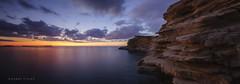 Wish you were here! (carmenvillar100) Tags: puntagalera acantilados cliffs sunset bluehour seascape santantonideportmany ibiza eivissa estratos horaazul atardecer