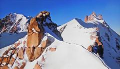 FRANCE - Alps -  Needle of the Midi (Jacques Rollet (very little available)) Tags: mountain montagne snow neige rocher alps alpes france landscape paysage needlemidi aiguillemidi