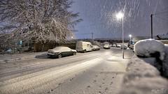 Philippa Snow (AreKev) Tags: januarysnow snow snowy cold philippasnow philippaclose whitchurch bristol somerset southwestengland england uk nikond850 nikon d850 aurorahdr2018 hdr aurorahdr sigma1424mmf28dghsmart sigma 1424mm 1424mmf28dghsm