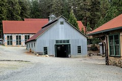 Blacksmith Shop (-Brian Blair-) Tags: empire mine building metal steel corrugated red roof blacksmith shop