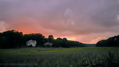 Sunset Over Guilford Wetlands (See ericgrossphotography.com) Tags: connecticut guilford wetlands landscape nature new england sunset captureone fujifilm x100f