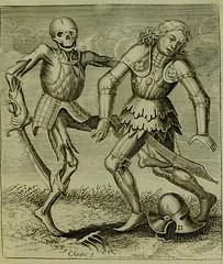 This image is taken from Page 87 of La danse des morts, comme elle est dépeinte dans la louable et célebre ville de Basle, pour servir de miroir de la nature humaine (Medical Heritage Library, Inc.) Tags: dance death rcplondon ukmhl medicalheritagelibrary europeanlibraries date1789 idb24990097