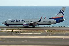 Boeing 737-8Z9 D-ASXA Sun Express Germany (EI-DTG) Tags: fuerteventura fue 29oct2018 b737 boeing737 sunexpress dasxa