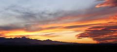 Burning sky (An Arzhig) Tags: montagne montagnes mountain mountains sky ciel cloud clouds nuages red rouge sunset coucher de soleil panasonic lumix gx800 panoramic panoramique 50mm france occitanie pyrénées nature