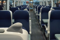 22208, Heuston, 21/11/18 (hurricanemk1c) Tags: railways railway train trains irish rail irishrail iarnród éireann iarnródéireann dublin heuston 2018 22000 rotem icr rok 3pce 22008 interiorrefurbishment 1730heustongalway interior 22208