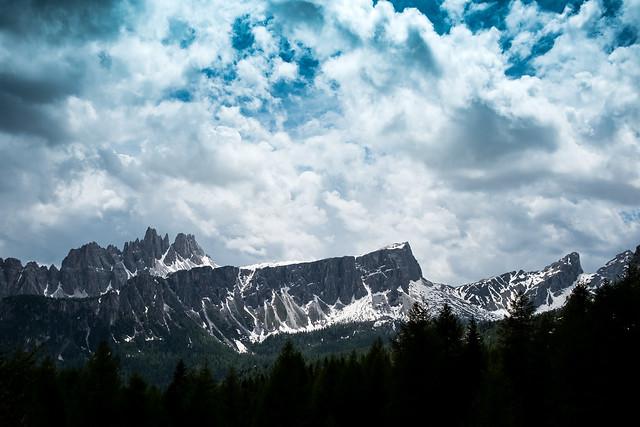 View of the Croda da Lago / Dolomites / Veneto