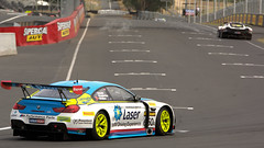 Murrays Corner - 12 Hour (1/3) (Jungle Jack Movements (ferroequinologist)) Tags: bathurst mount panorama conrod pit straight murrays corner ferrari bmw lamborghini marinello lowndes whincup vilander richards winterbottom wittman bell smith chester de veth gt3 australia nsw 12 hour m6 488 v8 v10 gallardo motor racing pass race speed car cars hottie track practice pole position times timing hard competition competitive event saloon sports racer driver mechanic engine oil petrol build fast faster fastest grid circuit drive helmet marshal starter sponsor number class motorsport 88 888