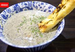 Mushroom Soup (APERTURE X & THE CULINARY ADVENTURER) Tags: food singapore bistrocafe mushroom soup