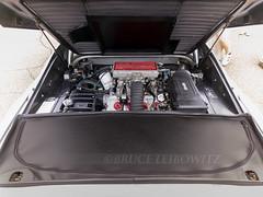 1987 Ferrari 328 GTS Engine (Flightline Aviation Media) Tags: bruceleibowitz stockphoto car samsung galaxy s9 eurofest automobile classic ferrari 328 gts engine hood 1987 antique vehicle