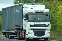 DAF XF Allelys Group AE61 AYN (SR Photos Torksey) Tags: transport truck haulage hgv lorry lgv logistics road commercial vehicle freight traffic daf xf allelys