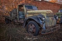 Vintage Chevrolet Truck (NikonDigifan) Tags: trucks vintagetrucks vintage decaying dilapidated rusty hdr highdynamicrange niksoftware colorefexpro chevrolet chevy chevytruck patina nikond750 nikon28300 nikon mikegassphotography