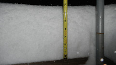 Almost 7 Inches at 20:15 (blazer8696) Tags: 2018 avery brookfield ct connecticut ecw obtusehill t2018 tabledeck usa unitedstates zoe snow storm winter dscn4115