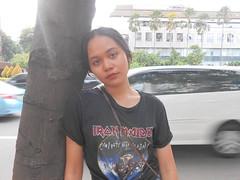 DSCN8798 (Avisheena) Tags: avisheena model hello world face ironmaiden black photograph