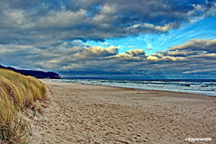 Ostseestrand (garzer06) Tags: ostsee strand wasser sand strandsand himmel wolken wolkenhimmel vorpommernrügen baabe mönchgut mecklenburgvorpommern deutschland naturephotography inselrügen naturfotografie landscapephotography landschaftsfotografie