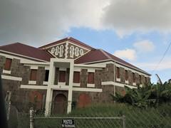 No trespassing sign at Gingerland Methodist Church, Stonyhill, Nevis (Paul McClure DC) Tags: nevis stkittsandnevis caribbean westindies oct2018 church stonyhill gingerland architecture historic sign