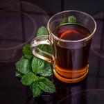 Fresh mint tea on the hotplate thumbnail