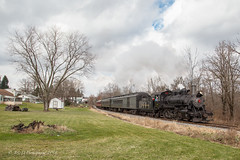 Everett Railroad 2-6-0 #11 @ Hollidaysburg, PA (Darryl Rule's Photography) Tags: 260 diesel everettrailroad holidaytrain holidaysburg mogul pa pennsylvania santaexpress steam steamengine