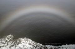 Fog Bow @ Sea. (Infinity & Beyond Photography: Kev Cook) Tags: fog bow fogbow sea ocean