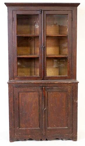 6 pane step back cupboard ($532.00)